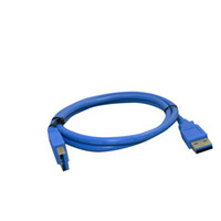 Wholesale 2M Hi Speed USB type A male to type A male M M Extension cable adapter for PC Laptop blue