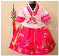 TuTu baby hanbok - Retail Korean Hanbok Traditional Costume baby girls kids Korean embroidered Dress Toddler Party Wedding Modern Dresses for years