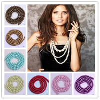 Pearl pearl jewelry making - Hot Sale Faux Pearl Loose Beads mm Fit European Jewelry Bracelets Necklace Craft Making DIY BDD