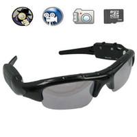 Wholesale Hot Spy Glasses Special Spy Sunglasses DVR with Hidden Camera Support External SD Card to GB SPC_206