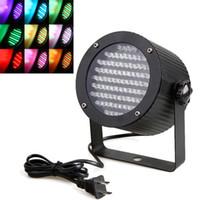 Wholesale Professional Stage Light W RGB LED Light Channel DMX512 Control Laser Projector DJ Party Disco Stage light US plug H8813US