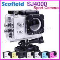 Wholesale Original SJ4000 Waterproof Sport DV HD Camera Camcorder Gopro Style Novatek P fps MP H Inch LCD CAR DVR