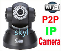 Wholesale cheap ip camera NEO Coolcam NIP Wireless IP Camera P2P Dual Audio IR Night Vision Pan Tilt Speed Monitor DHL FREE