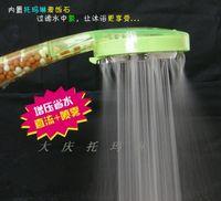 Wholesale 10pcs Tourmaline nozzle shower head beauty bathroom shower