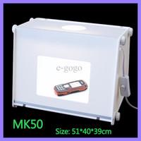 """110V-250V 20""""x16"""" MK50 Portable Mini Lumière Booms Photo Studio de Photographie Boîte à Lumière Softbox 510 * 400 * 390mm"""