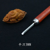 Yes W1-flat-3mm  1PC Olivary nucleus carving tools DIY wood engraving bits CED 3mm flat bits free shpping