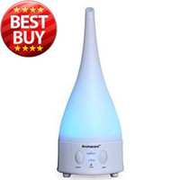 Wholesale NEW Color changing Ultrasonic Air Humidifier and Aroma Diffuser Lamp Air purifier Air ioniser