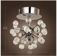 Wholesale Modern K9 Crystal Chandelier with Lights in Globe Shape