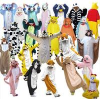 adult onesies - Adult Animal Kigurumi Onesies Cosplay Costume Pyjama Pajamas Sleepwear Jumpsuit Hoodies Unisex