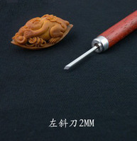 Yes W1-left bevel-2mm  1PC Olivary nucleus carving tools DIY wood engraving bits CED 2mm left bevel bits free shpping