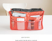 Wholesale cosmetic makeup bag women s organizer bag handbag travel bag insert with pockets storage bags