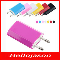 For Apple iPhone apple power source - 2016 for retail by China post EU Charger round feet color USB power source