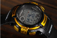 Wholesale Digital Watch Sports Wrist Watch Men watch LED Watch Kid with Waterproof Mix Colors