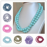 Wholesale Promotion Rolls mm Loose Faux Pearl Round Beads Fit European DIY Jewelry Bracelet Necklace Craft Making BDA