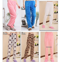 Men other  Male winter robe pajama pants women's pajama pants thickening thermal pajama pants flannel pajama pants