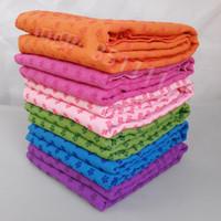 Wholesale 183cm cm Skidless Yoga Towel Yoga Mat Non slip Yoga Mats for Fitness Yoga Blanket