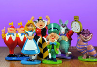 PVC alice pvc - inch Details about min Alice in Wonderland PVC Cake Toppers Figure Toy set JXU