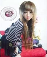 Black Straight 16 Fluffy cute Mainstream fashion cute fluffy wig Fashion wigs Doll wig Wig sales Cheap women wig