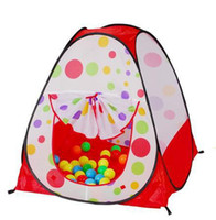 Birth to 24 Months Boys' Tent Promotion price Children Kids Play Tent toy game house baby beach tent indoor & outdoor tent JZ112