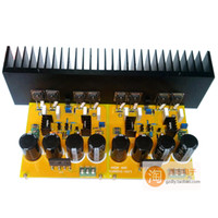 Wholesale Assembled A50M Class A power amplifier kit designed for FET amplifier board Without power tubes and filter capacitor radiator