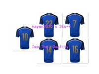 Wholesale Top Thai Argentina World Cup Away Soccer Jerseys Thailand Soccer Shirts Blue Jersey