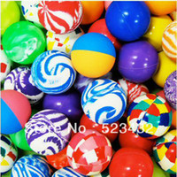 Wholesale 27mm new rubber High Bouncing balls bouncy ball bounce ball mix colorful bouncing ball gift for kids