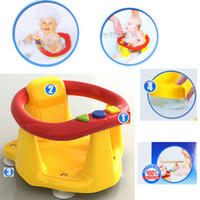 Wholesale Baby Infant bath tub ring seat chair Yellow orange Chair dinning chair