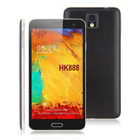 5.7 Android 1G Star N9000 Android 4.2 Mobile Phone MTK6589t Quad Core 5.7inch FHD IPS Screen 1G RAM+16GB ROM 13MP Dual Cam GPS Black