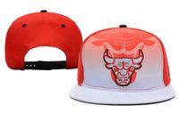 Wholesale Bulls Snapback Red Basketball Snapbacks New Snap Back Cap High Quality Snapback Hats Popular Hip Hop Swag Hat Trukfit Snap Backs Caps