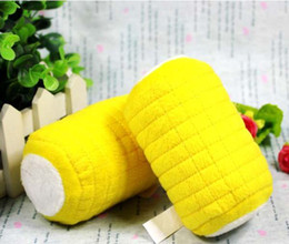 Wholesale Factory price Tasty visual corn cobs pet toy dog toys sound Squeak Drop Shipping For Dog cat Toys