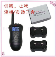 Wholesale Remote pet Training system With Auto manual mode of meter range receivers