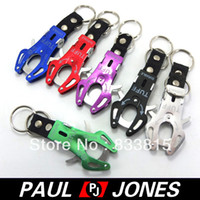OD48 60*40*14mm 13g(Approx) Free Shipping Outdoor Sports Tiger Head Shaped Aluminum Carabiner Hook Keyring Clip OD48