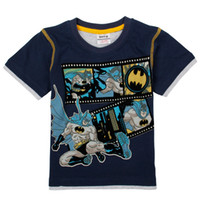 Wholesale C3959 Children Korean style m y baby boys t shirts Nova Kids Summer Wear catoon clothing batman shirt cotton short sleeve boy plain tees