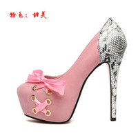 baby stilettos - 2017 New Baby Pink Blue Black Adorable Comfortable High Platform Strappy Heels Club Shoes