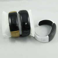 cell phone time - Bluetooth Bracelet watch answer call w Vibration Mic Speaker Time Cell phone anti theft