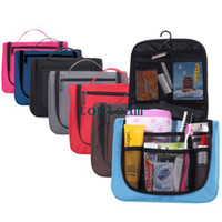 Wholesale hot selling new travel bag with large capacity women s cosmetic bag functional wash bag EMS FREE TO AUS
