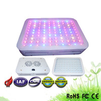 Wholesale 1PCS New W LED Grow Light Spectrums IR Indoor Hydroponic System Band Plant Ufo Make Flower In Blossom Longer V DHL Free