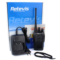 Wholesale Lowest Portable CB Radio New Brand Retevis H Walkie Talkie UHF W CH Single Band Way Radio Black A1044A