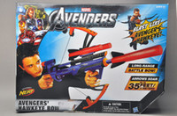 3 & 4 Years bow and arrow gun - Heat authentic NERF Hasbro Children s toys Avengers Hawkeye bow and arrow shooting crossbow gun