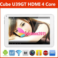 HOT 9Inch Quad Core Cube U39GT Android 4. 2 Tablet PC HDMI Du...