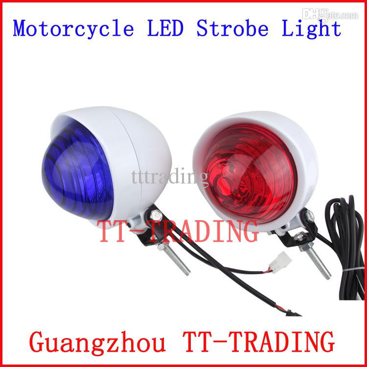 LED High Bright Police Motorcycle Light Police Strobe Light ...