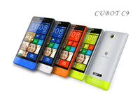 Android Dual Core 256MB 4.0 Inch CUBOT C9 Dual sim GSM Android 2.3 MTK6515 1GHz Dual Core 512M ROM 256MB RAM Four Colors in stock