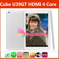 Cube U39GT Dual Camera Quad Core Android 4. 2 Tablet PC 9Inch...