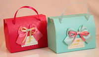 Pink Wedding gift - Wedding Favors Holders Wedding Gift Bags Candy BagPortable and joyful box of creative wedding gift box containing deserve to act the role of