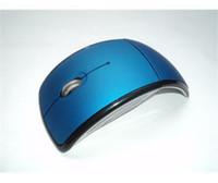 arc laser mouse - Wireless Mouse M Ghz USB Cordless Foldable Folding mouse Mini USB Optical Arc for PC Laptop Computer