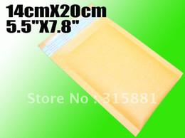 """Wholesale 5.5""""X7.8"""" 14cmX20cm bubble envelope padded envelopes paper envelope bubble mailer bag"""
