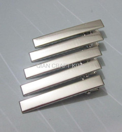 set of 200PCS--20x5.5mm Silver tone plated metal hair alligator clip barrette free shipping-JS0056f