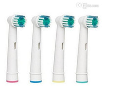 Wholesale Hot Sale Electric Toothbrush Heads Soft Bristles Neutral Packaging EB17 SB A Brush Head Top Quality CE amp RoHS certificate Set
