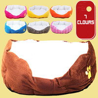 Wholesale Colors Berber Fleece Warm Super Soft Pet Nest Dog Beds Cat Beds