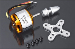 Wholesale 5 set A2212 KV Brushless Outrunner Motor A Speed Controller ESC RC Aircraft Axis Quadcopter UFO